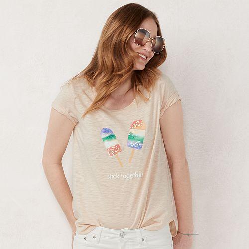 Women's LC Lauren Conrad Graphic Tee