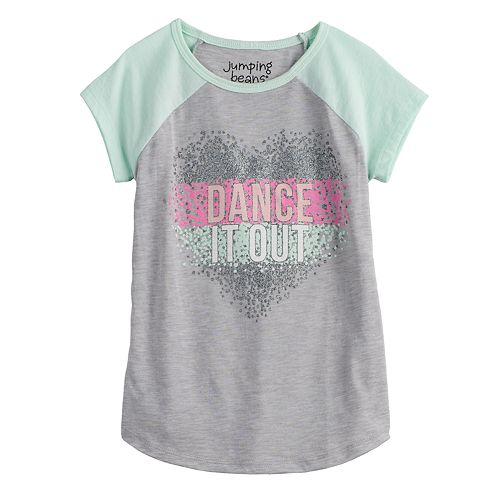 """Girls 4-12 Jumping Beans® """"Dance It Out"""" Graphic Tee"""