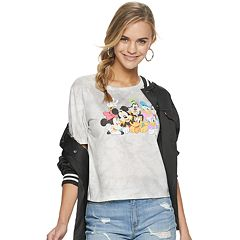 5b01d8a518f7 Disney's Mickey Mouse Group Juniors' Graphic Tee