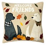 Celebrate Fall Together Welcome Friends Pillow