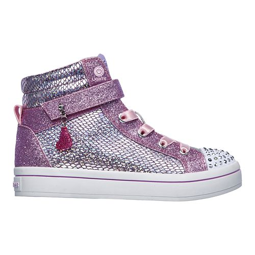 Skechers Twinkle Toes Twi Lites Holla Glam Girls' Light Up