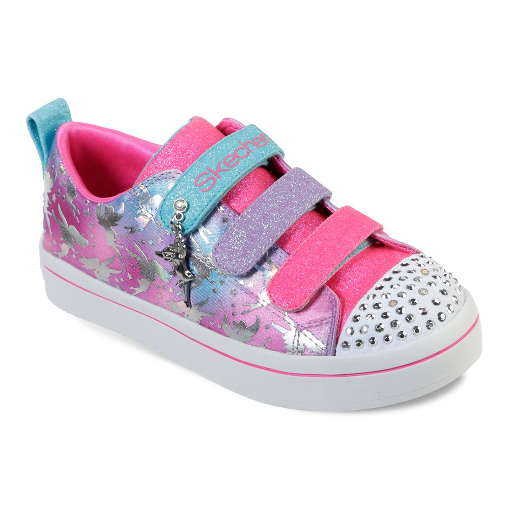 Skechers® Twinkle Toes Twi-Lites Fairy Wishes Girls' Light Up Shoes