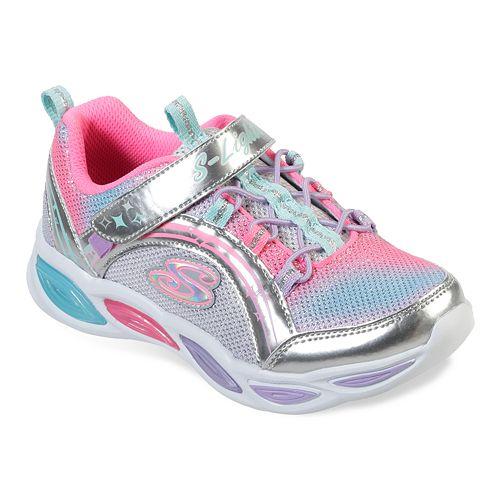 Skechers S Lights Shimmer Beams Girls' Light Up Shoes