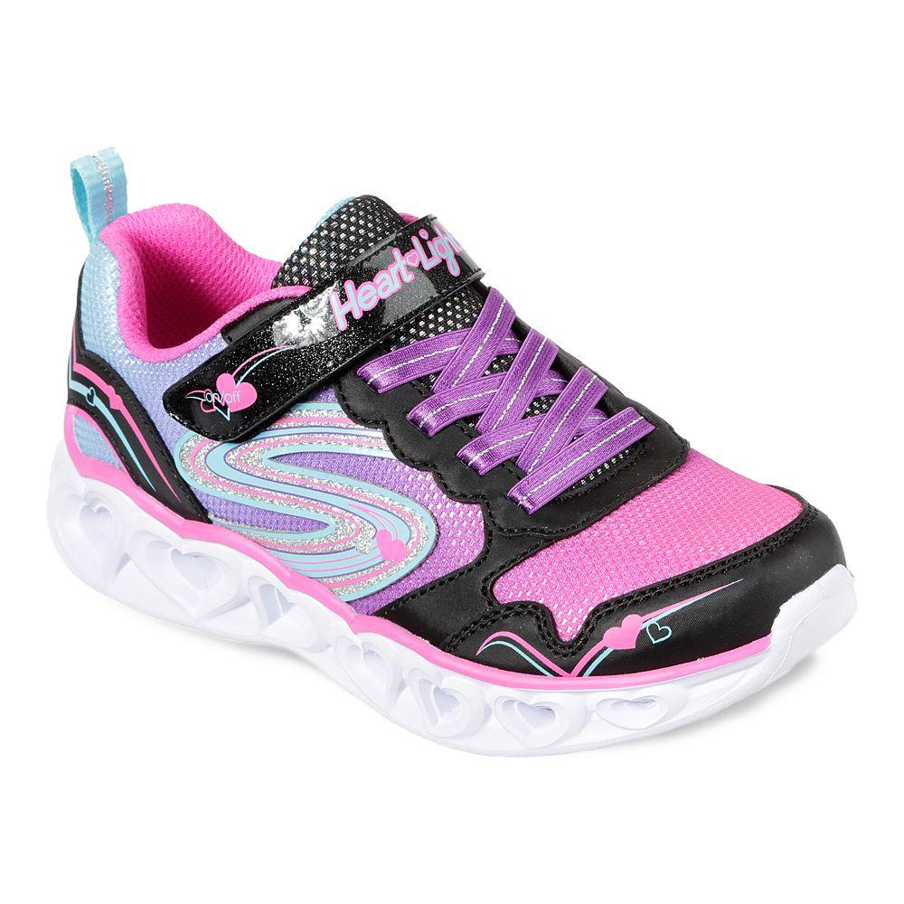 Skechers® S Lights Heart Lights Girls' Light Up Shoes