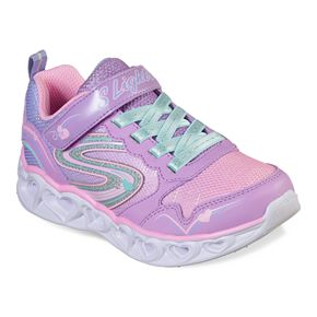 Skechers S Lights Heart Lights Girls' Light Up Shoes