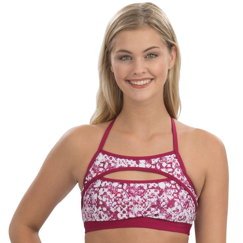 Women's Dolfin Uglies Revibe Print T-Strap Bikini Top