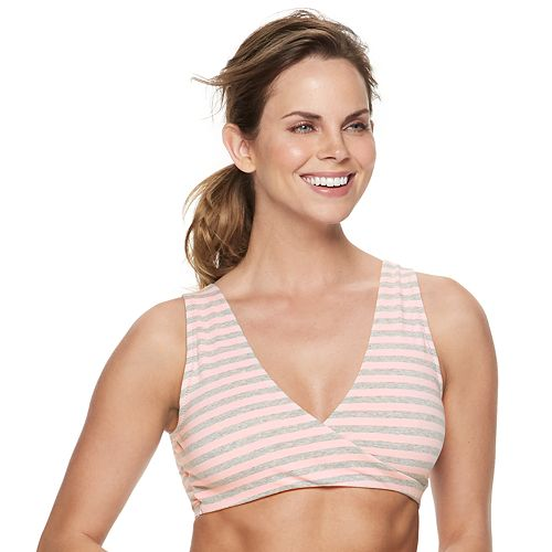 Women's Lamaze Maternity Nursing Sleep Bra