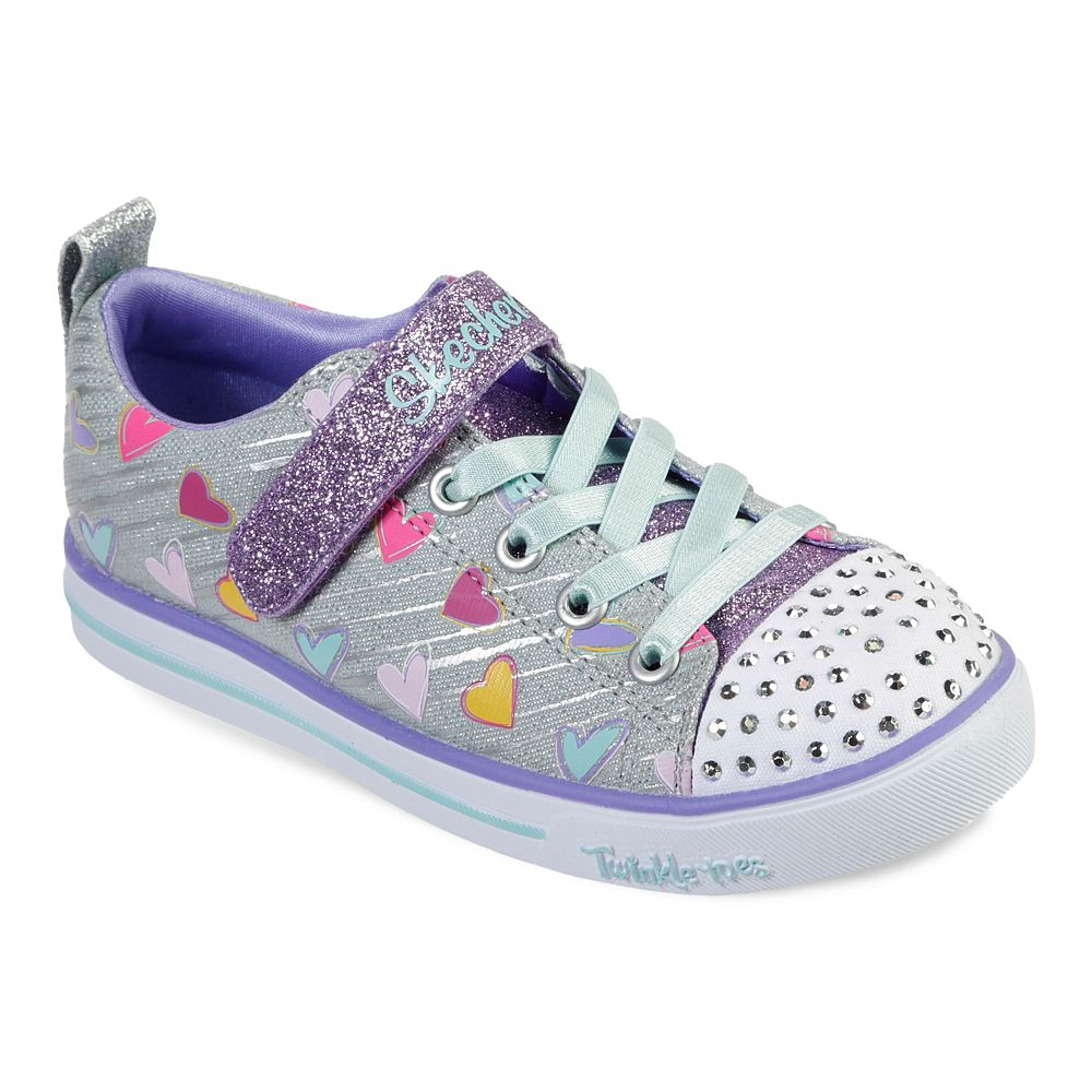 Skechers® Twinkle Toes Shuffles Sparkle Lite Girls' Light Up Shoes