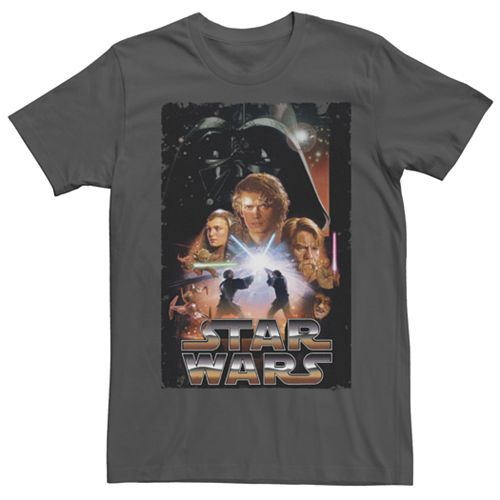 Men's Star Wars Revenge Of The Sith Poster Tee