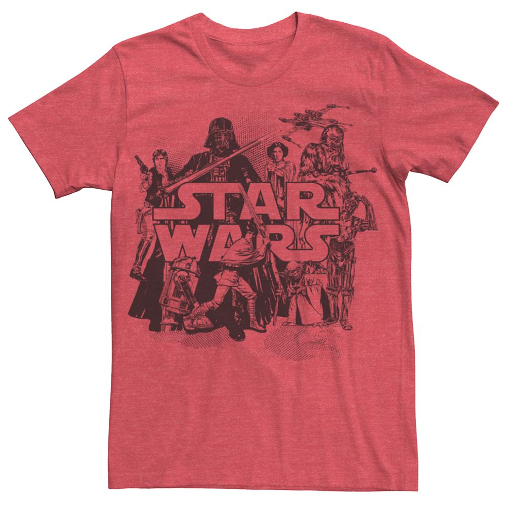 Men's Star Wars Vintage Collage Tee