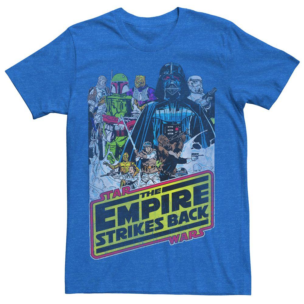 Men's Star Wars Empire Strikes Back Poster Tee