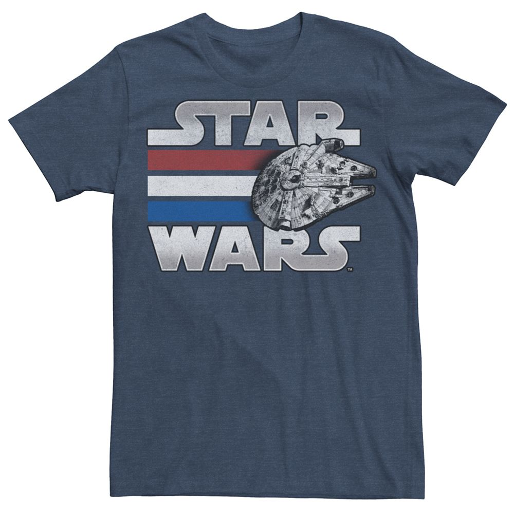 Men's Star Wars Millennium Falcon Poster Tee
