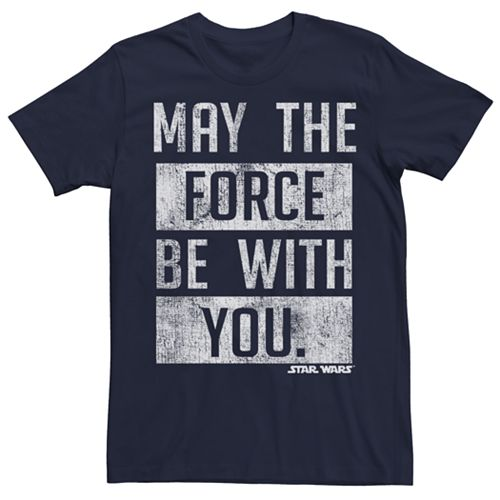Men's Star Wars May The Force Be With You Tee