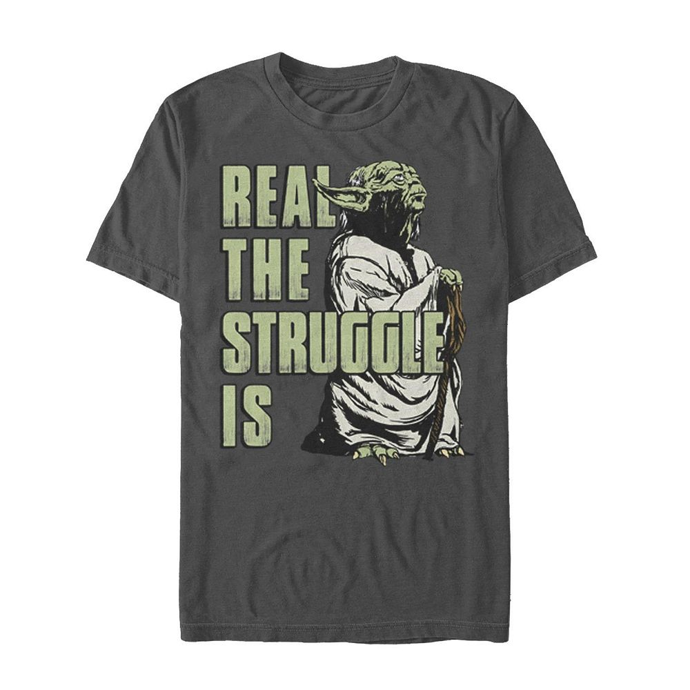 Men's Star Wars Real The Struggle Tee