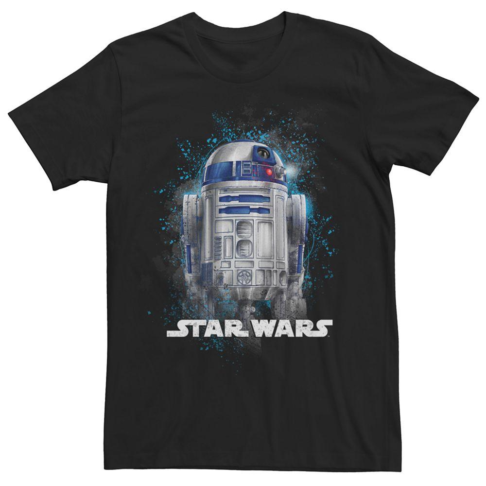 Men's Star Wars R2-D2 Portrait Tee