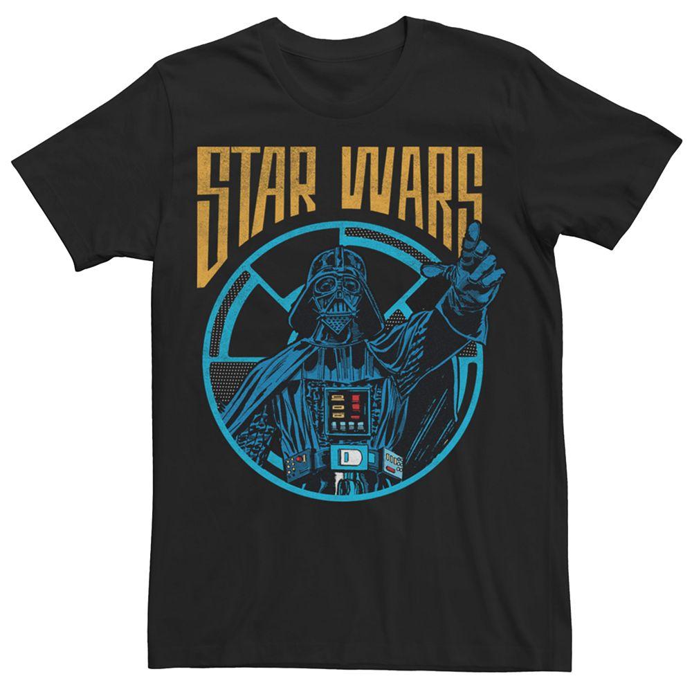Men's Star Wars Retro Darth Vader Tee