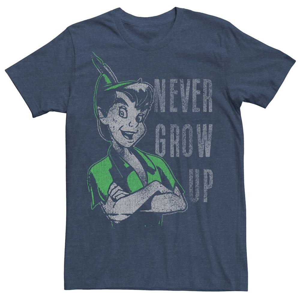 Men's Peter Pan Vintage Never Grow Up Tee