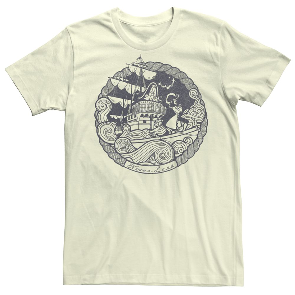 Men's Peter Pan Vintage Logo Tee