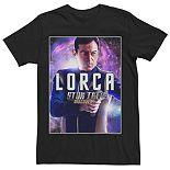 Men's Star Trek Lorca Character Tee