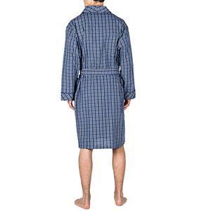 Big & Tall Residence Summertime Poplin Shawl Robe