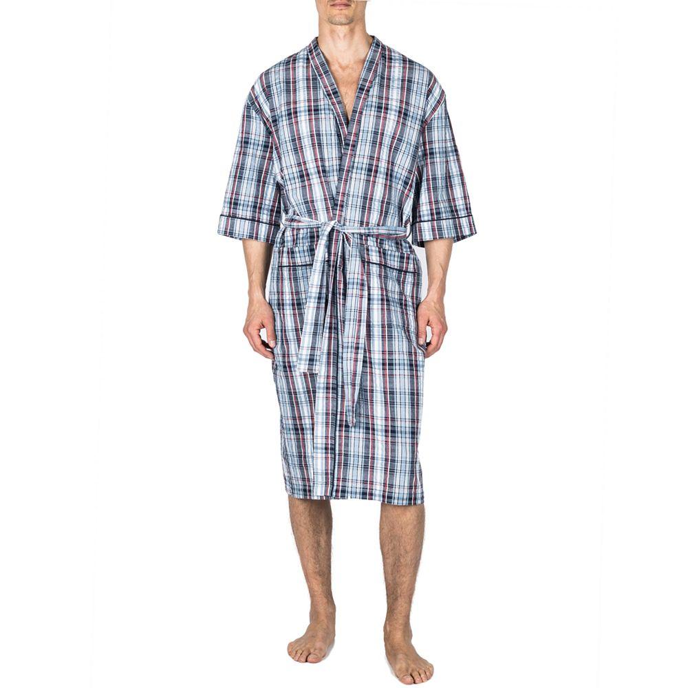 Big & Tall Residence Seersucker Kimono Robe