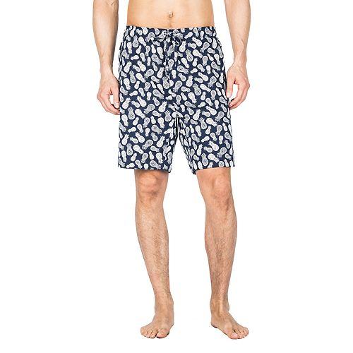Big & Tall Residence Novelty Knit Jersey Lounge Shorts