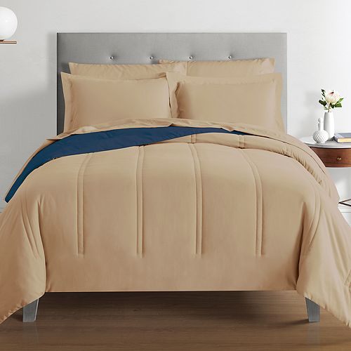Rest Polygiene Solid Reversible Comforter Set