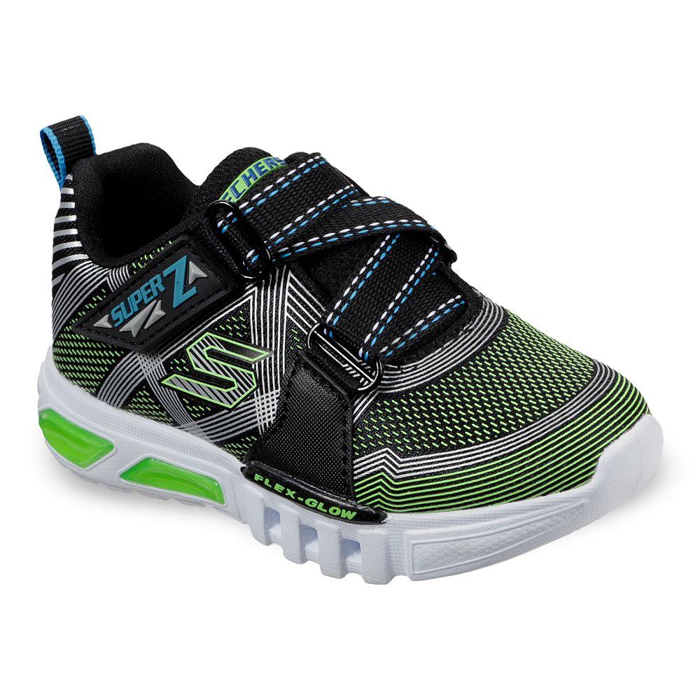 Skechers S Lights Flex-Glow Parrox Toddler Boys' Light Up Shoes