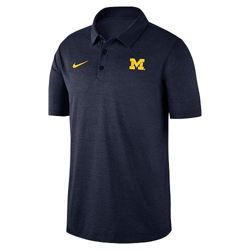 Men's Nike Michigan Wolverines Dri-FIT Polo