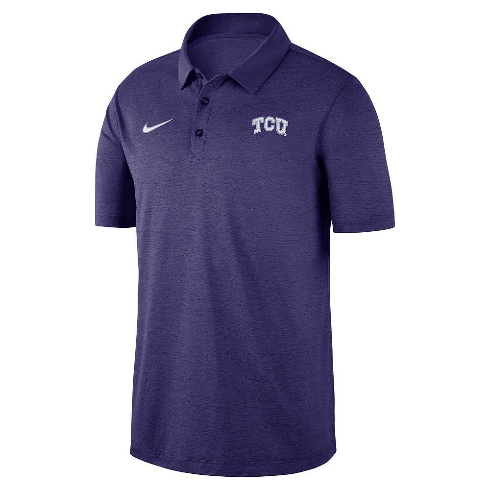 Men's Nike TCU Horned Frogs Dri-FIT Polo