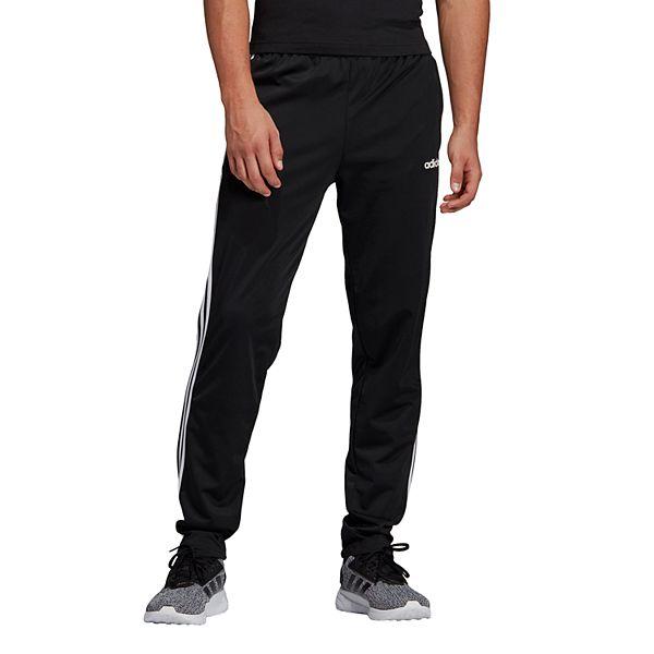 dolor piloto autopista  Men's adidas Essential 3-Stripe Tapered Tricot Pants