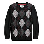 Boys 8-20 Urban Pipeline? Argyle Christmas Sweater in Regular & Husky