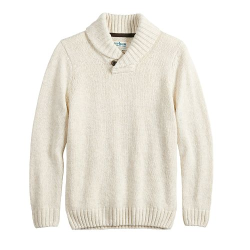 Boys 8-20 & Husky Urban Pipeline™ Shawl Collar Pullover Sweater