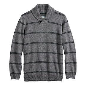 Boys 8-20 & Husky Urban Pipeline? Shawl Collar Pullover Sweater