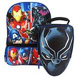 Kids Avengers Infinity Backpack & Lunch Bag Set