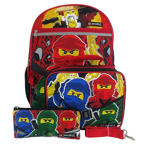 LEGO Ninjago 4-Piece Backpack Set