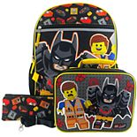 LEGO Batman 4-Piece Backpack Set