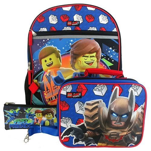 Kids LEGO Batman 4-piece Backpack Set