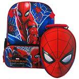 Kids Spider-Man Backpack & Lunch Bag Set