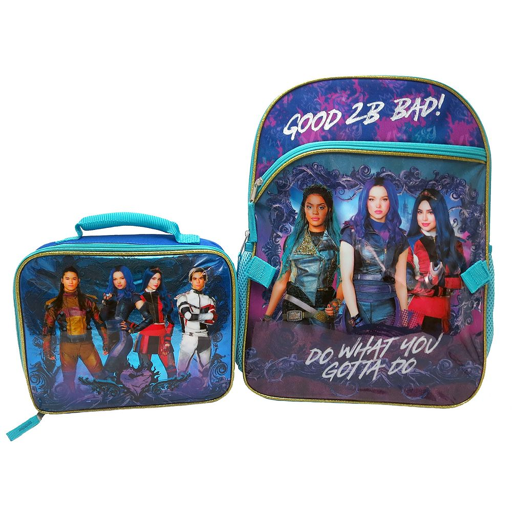 Disney's Descendents Backpack & Lunch Bag Set