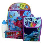 DreamWorks Trolls Poppy 5-Piece Backpack Set