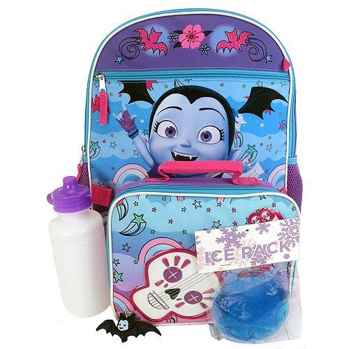 Disney's Vampirina 5-Piece Backpack Set