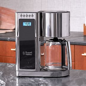 Russell Hobbs Glass Series 8-Cup Coffee Maker