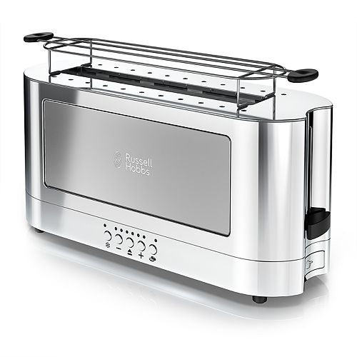 Russell Hobbs 2-Slice Glass Accent Long Toaster