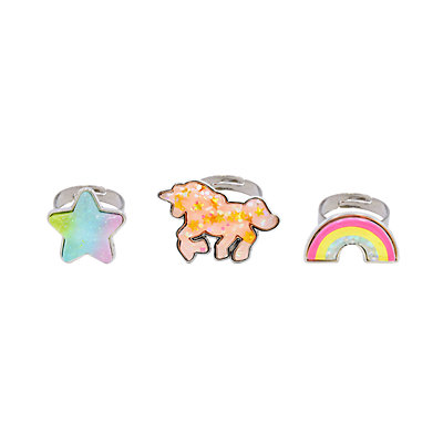 Girls Carter's 3-Pack Unicorn Rings