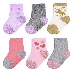 Girls Carter's 6-pk. Crew Socks