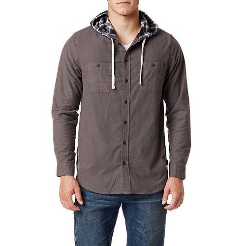 Men's Unionbay Walon Hooded Fannel Shirt