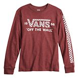 Boys 8-20 Vans Graphic Logo Tee