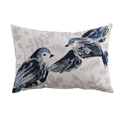 SONOMA Goods for Life® Embroidered Bird Throw Pillow