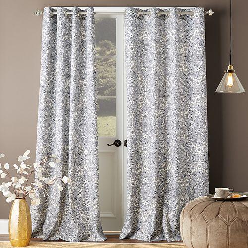 Bedeck Ziba 1-panel Grommet Window Curtain